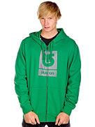 Hoodies med zip Burton Logo Fill Zip Hood