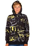 Hoodies med zip Quiksilver Stain Zip Hood Youth