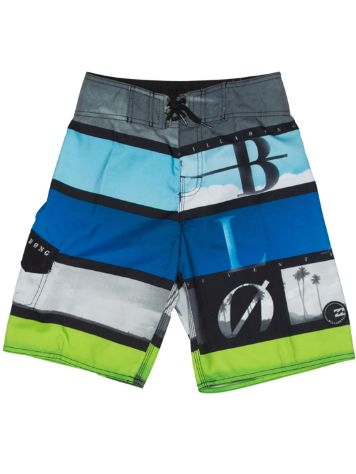 Billabong Frequency Scallop Boardshorts Boys