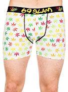Underkläder 69 Slam I Legalize Wh Fitted Fit Boxershorts