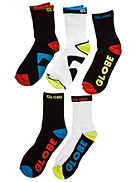 Strumpor Globe Color Pack Socks