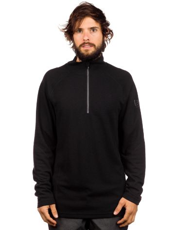 Burton Ak Wool 1/4 Zip Tech Shirt LS