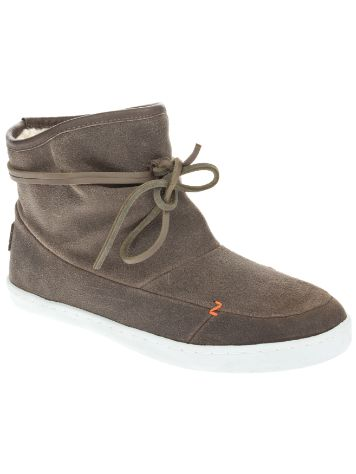 HUB Queen Waxed Suede Wool Shoes
