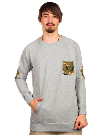 SWEET SKTBS Pocket Crew Sweater