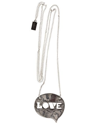 mint Love Balloon Necklace