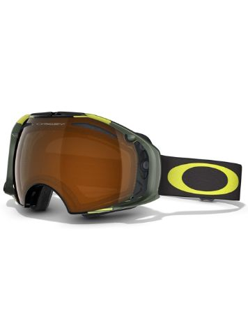 Oakley Airbrake Shaun White Block Stripes Neon