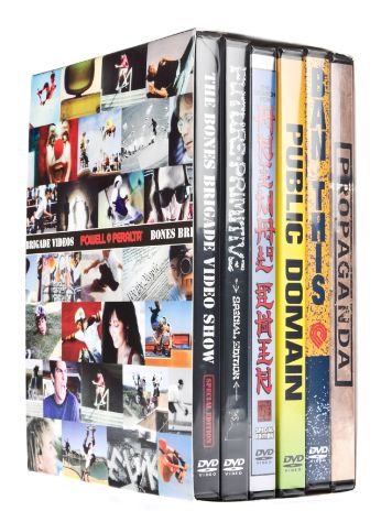 Bones VISK Set of 6 Powell DVD