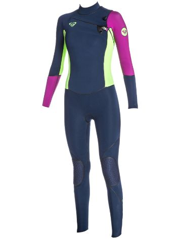 Roxy Cypher 4/3mm Chest-Zip Fullsuit