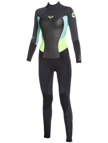 Roxy Syncro 3/2Mm Back-Zip Fullsuit Gbs