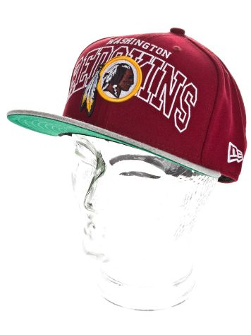 New Era Washington Redskins Wordmark Central Cap