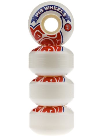 Pig Wheels Banner 51mm