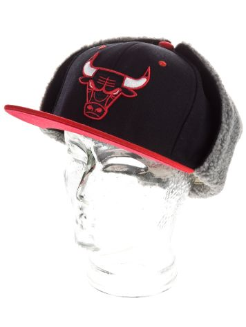 Mitchell & Ness NBA Chicago Bulls Team Logo Dogear Cap