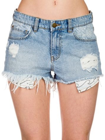 Billabong Memory Lane Floral Shorts