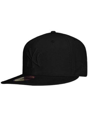 New Era Black On Black NY Yankees Cap MLB Cap