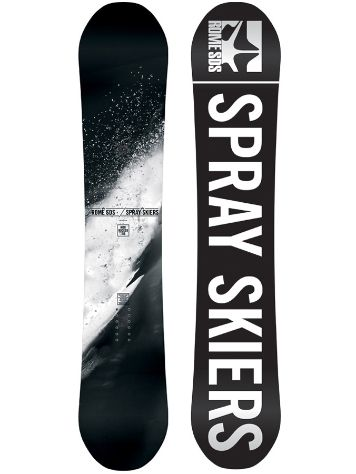 Rome Mod Rocker Spray Skiers LTD 153 2014