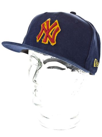 New Era NY Yankees Canvawash Cap