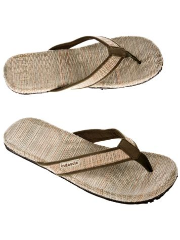 indosole Green Grass Mat Sandals