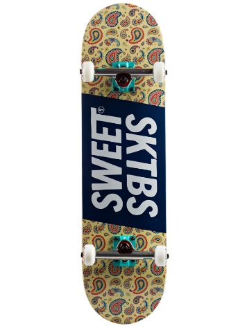 SWEET SKTBS Official Paisley White 8.25