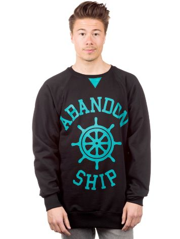 Abandon Ship Contrast Wheel Sweater
