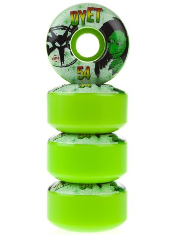 Bones STF Dyet Rasta GRN V1 54mm Wheels